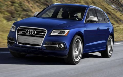 The high-performance 2014 Audi SQ5 debuts at the Detroit auto show.