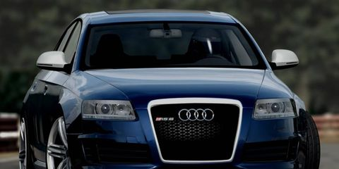 The AutoWeek Car Show Pack includes the Audi RS6.
