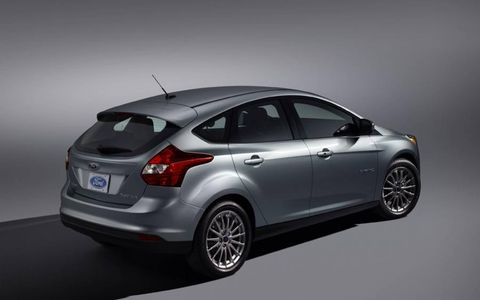 The Ford Focus Electric