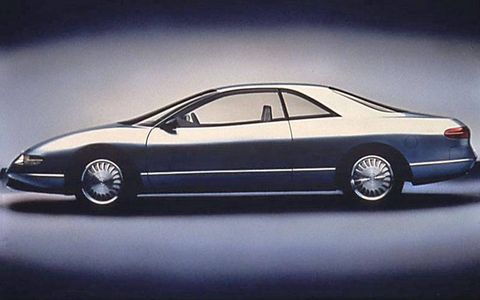 The Buick Lucerne concept never made it to productions, but its lines -- and name -- would live on in future cars from the marque.