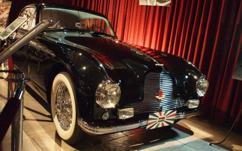 1952 Aston Martin DB2125-hp, four-speed manual six-cylinder