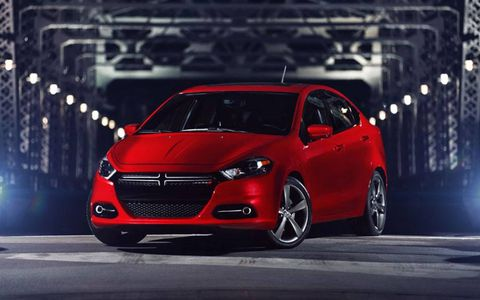 The 2013 Dodge Dart GT comes standard with 18-inch wheels, upgraded versions are also available.