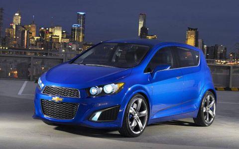 Detroit Auto Show: Chevy Aveo RS