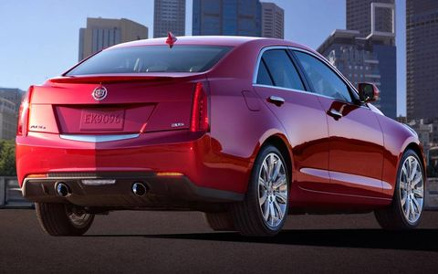 The Cadillac ATS weighs 500 pounds less than the CTS sedan.