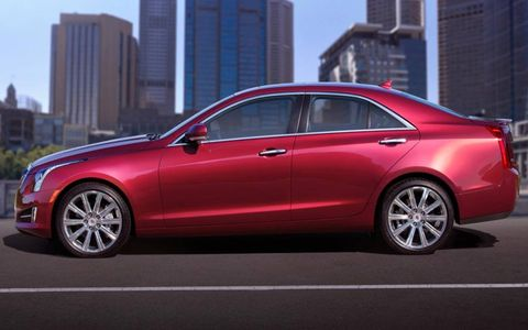 Engineers moved the battery to the trunk of the Cadillac ATS for better weight balance.