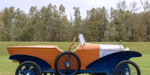 The upcoming Paris Bonhams auction will feature a variety of French vehicles including this unusual 1922 Amilcar Type 4C Skiff.