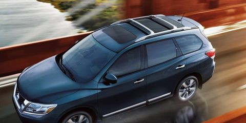 The look of the 2013 Nissan Pathfinder sets styling themes for upcoming Nissan cars.