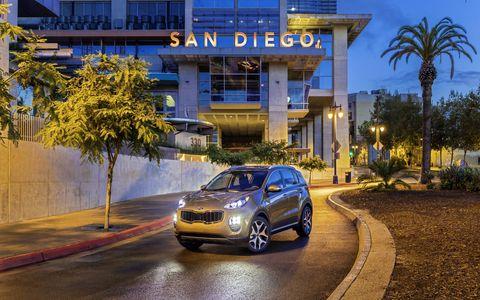 The 2017 Kia Sportage made its North American debut at the LA Auto Show.