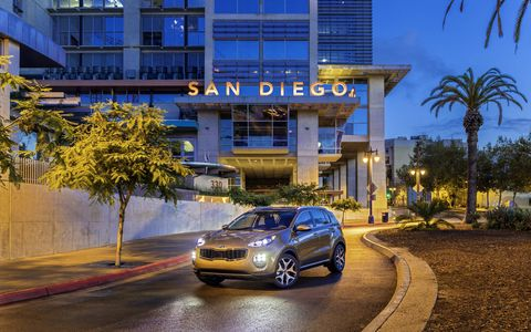 The 2017 Sportage, the fourth generation of Kia Motors America's longest-running nameplate, wraps a stunning and contemporary design around a structure that is both stiffer and more spacious than ever before.