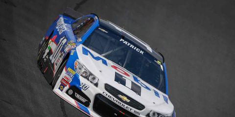Danica Patrick finished ninth in the Sprint Showdown, but made Saturday's All-Star Race by winning the fan vote.