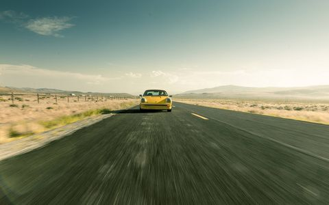 Bradley Brownell went on a three-week cross-country adventure in his Porsche 912.