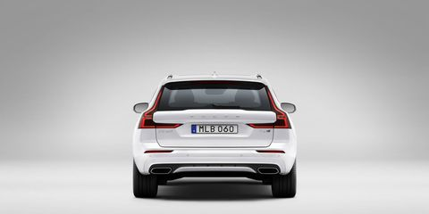 The 2018 Volvo XC60 is the first model from Volvo's revamped 60-Series.