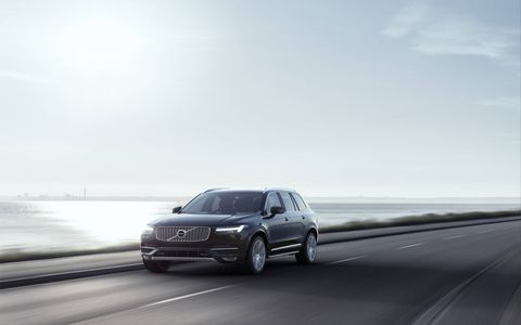 The redesigned Volvo XC90 three-row SUV