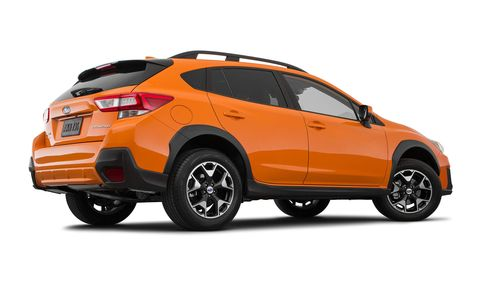 The Subaru Crosstrek drops some letters and gains some space for 2018.