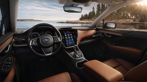 The 2020 Subaru Outback will feature a massive, optional 11.6-inch tablet-style touchscreen infotainment system and a series of creature comfort refinements.