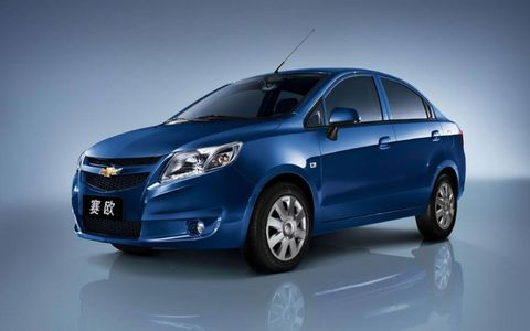Chevrolet Sail - Developed in China for Emerging Markets