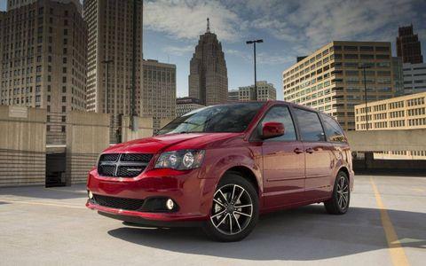 2013 Dodge Caravan Blacktop edition