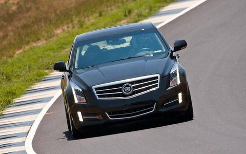 Our ATS tester was powered by a 3.6-liter V6 making 321 hp and 275 lb-ft of torque.