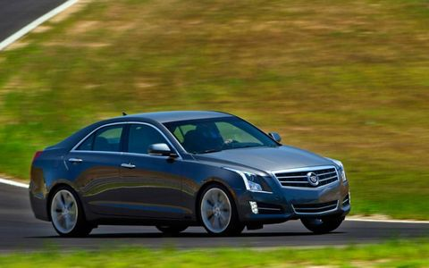The ATS handles well through corners, and the ZF electric-steering system provides good feel.