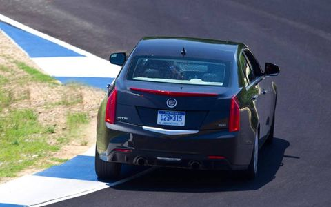 The exterior styling of the ATS is OK, it's nice and all, but it doesn't evoke a lot of passion.