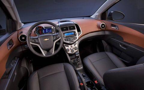 Chevrolet Sonic sedan interior