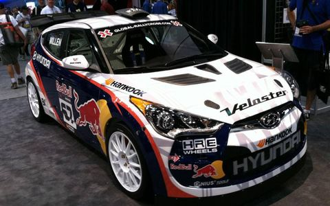 Rhys Millen Racing takes on the Veloster