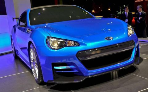 The Subaru BRZ goes on sale next year.