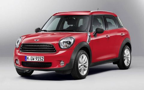 Mini's All4 all-wheel-drive system is offered on Countryman S and John Cooper Works models.