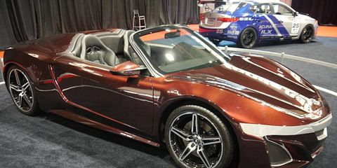 """The Acura Supercar that Tony Stark drove in """"The Avengers."""""""