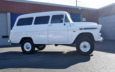 Over the course of nearly eight decades, the Suburban evolved from a basic wagon to a deluxe SUV. This example sits somewhere in the middle.