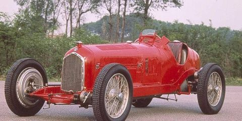 The 1932 Tipo B/P3 won its first race and totaled six victories that year.