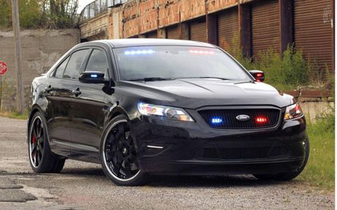 The Ford Stealth Police Interceptor will be display at SEMA