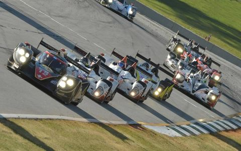 2012 Petit Le Mans: #12 Rebellion Racing and field