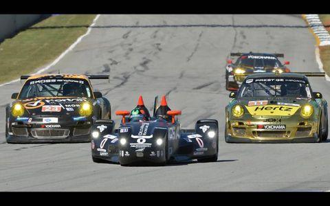 2012 Petit Le Mans: #0 Delta Wing Nissan