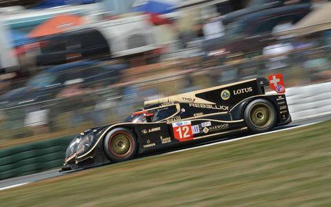 2012 Petit Le Mans: #12 Rebellion Racing