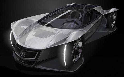 The Cadillac Aera by General Motors Advanced Design California