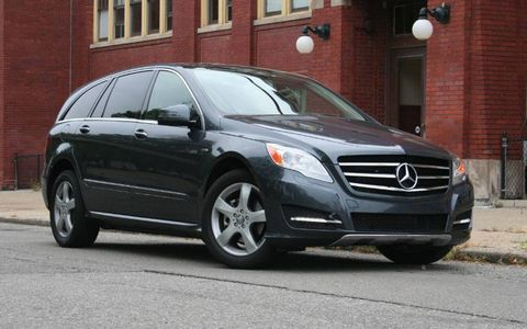 Driver's Log Gallery: 2011 Mercedes-Benz R350