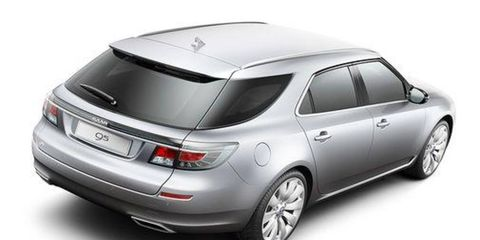 The Saab 9-5 SportCombi wagon, based on the 9-5 sedan, will arrive in the United States this fall.