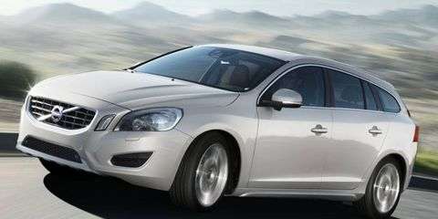 A plug-in hybrid version of the Volvo V60 is set to go on sale in 2012.