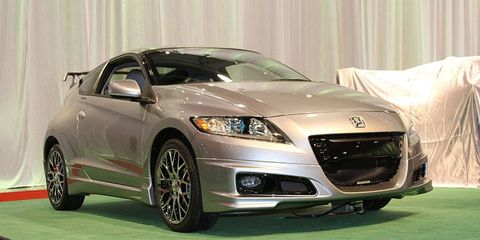 Honda CR-Z with Mugen body kit.