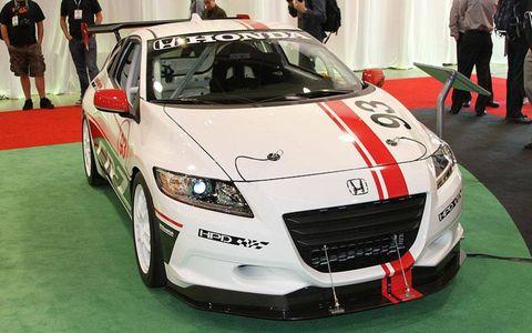 Honda CR-Z Racer.