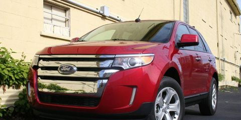 Driver's Log Gallery: 2011 Ford Edge SEL