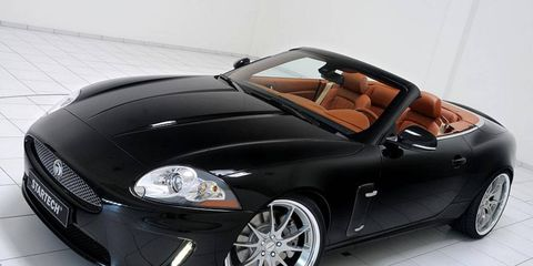StarTech, the division of Brabus that specializes in British cars, is now offering customizing packages in the United States for Jaguar and Land Rover vehicles.
