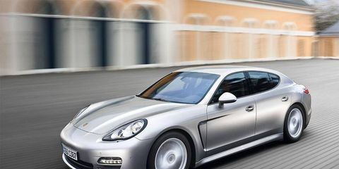 All of the added length for the Porsche Panamera is set to be incorporated in a longer rear door and a larger rear-door aperture.