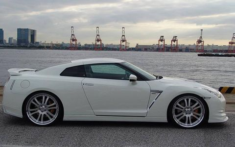 It looks mean gracing the waterfront.