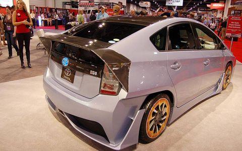 A Toyota Prius with attitude.