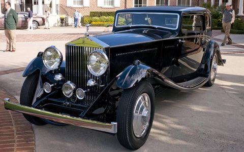 A 1933 Rolls Royce