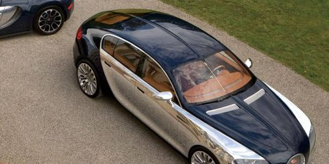 The Bugatti 16C Galibier will have a projected sticker price of $1.4 million.