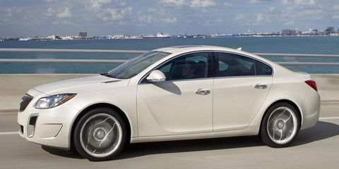 The 2012 Buick Regal GS.