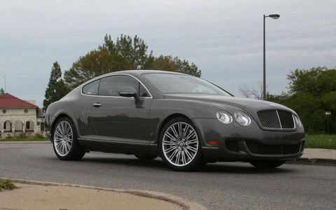 Driver's Log Gallery: 2010 Bentley Continental GT Speed Series 51